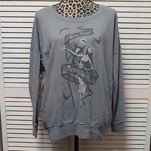 Torrid Nightmare Before Christmas Sweatshirt sz 0